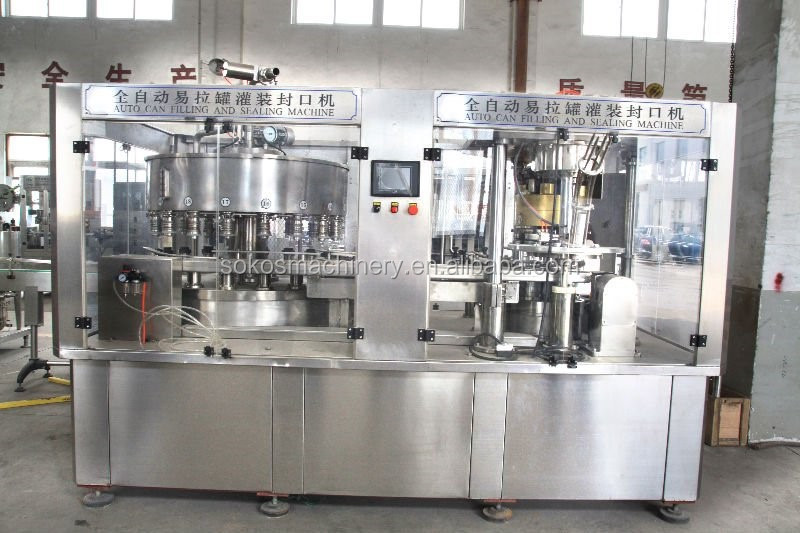 beer spray paint can filling machine