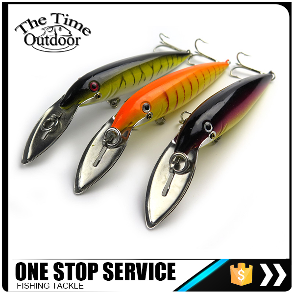 Multicolor ABS Hard Minnow Lure For Fishing With Vivid 3D Eyes