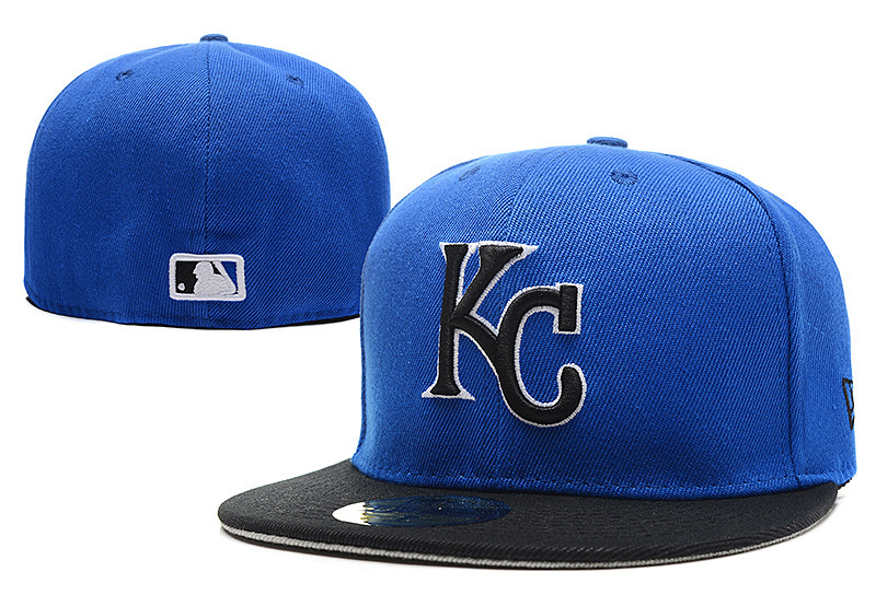 Get Quotations · One pcs Top quality Kansas Royals baseball fitted hats  Letter KC Logo brand name sport closed 5f5d8997e