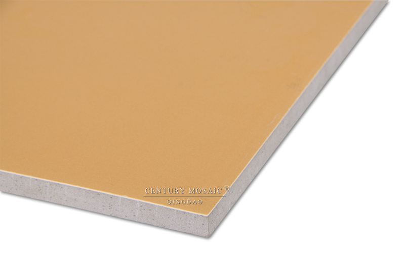 600 * 600 Orange Glazed Non Slip Ceramic Floor Tile Prices