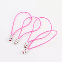 2018 Fashion Hanging Charm Mobile Phone Strap String in Pink Wholesale