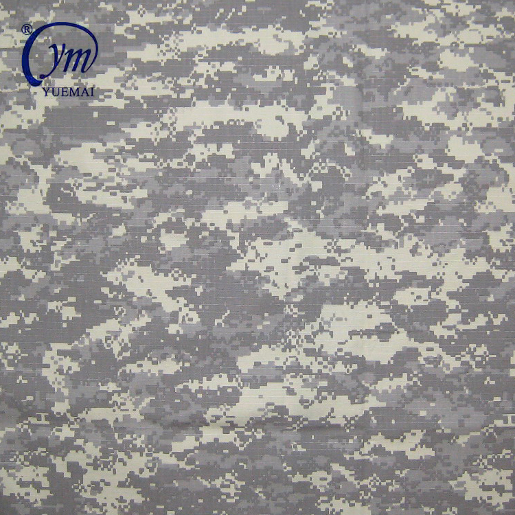 Waterproof army textile fabric military digital acu camouflage fabric