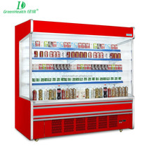 Energy Saving Supermarket Open Multi Deck Showcase Top Freezer