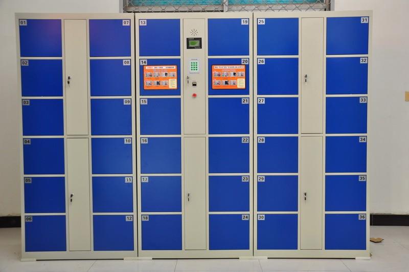 Código de barras electrónico lockers/Gimnasio casilleros electrónicos Venta al por mayor, la fabricación, la producción