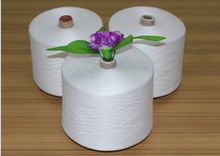 virgin 100 percent polyester spun yarn 20/2 semi-dull or bright fiber/quality polyester yarn