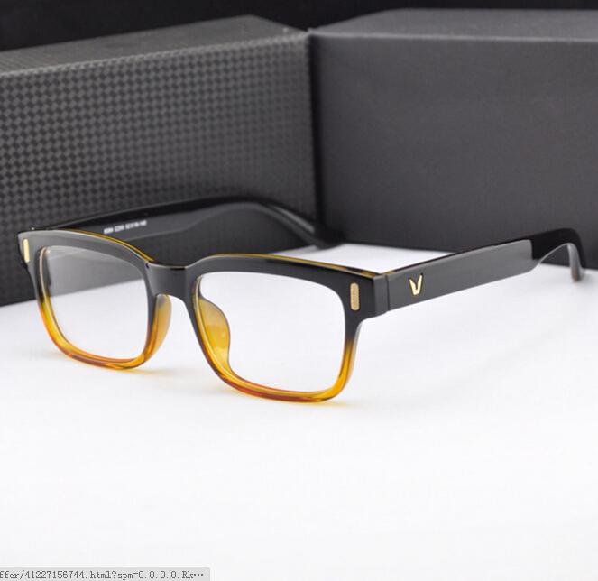 e3cd4b2940d3f 2015 V-Shaped Logo Armacao De Brand Eyeglasses 8 Colors Men Women Oculos De  Grau Glasses Frame Factory Outlets