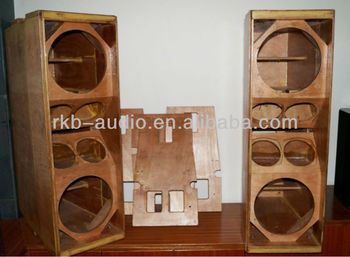 Wooden Speaker Enclosure Empty Cabinets For