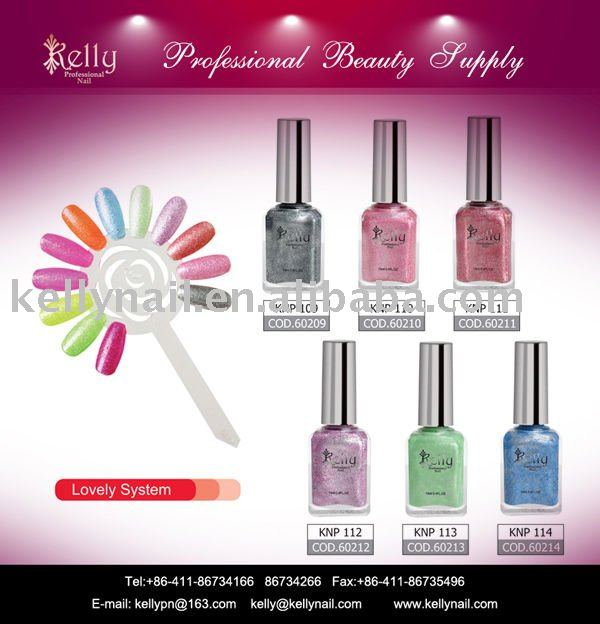 kelly lovely system nail polish