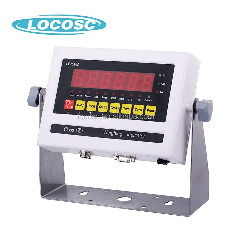 Cheap Price Weight Indicator,Strain Digital Weigh bridge Indicator,Lp7510 Weighing Indicator