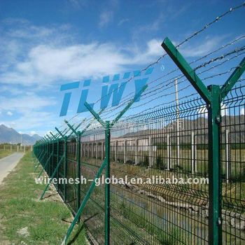 Airport Prison Barbed Wire Fence Buy Barbed Wire Fence Crimp Bare