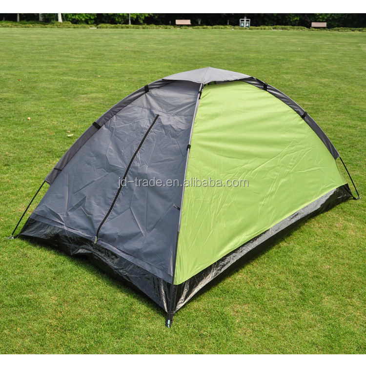 Ningbo J&D High Quality Outdoor Camping Tent With Camping Single Person Dome Backpacking Tent Sunshade Tent