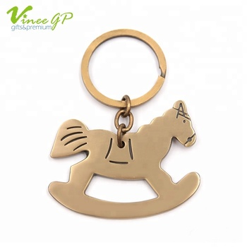 21.5g Antique Brass Plating gold keyring personalized keychain wholesale custom keychains