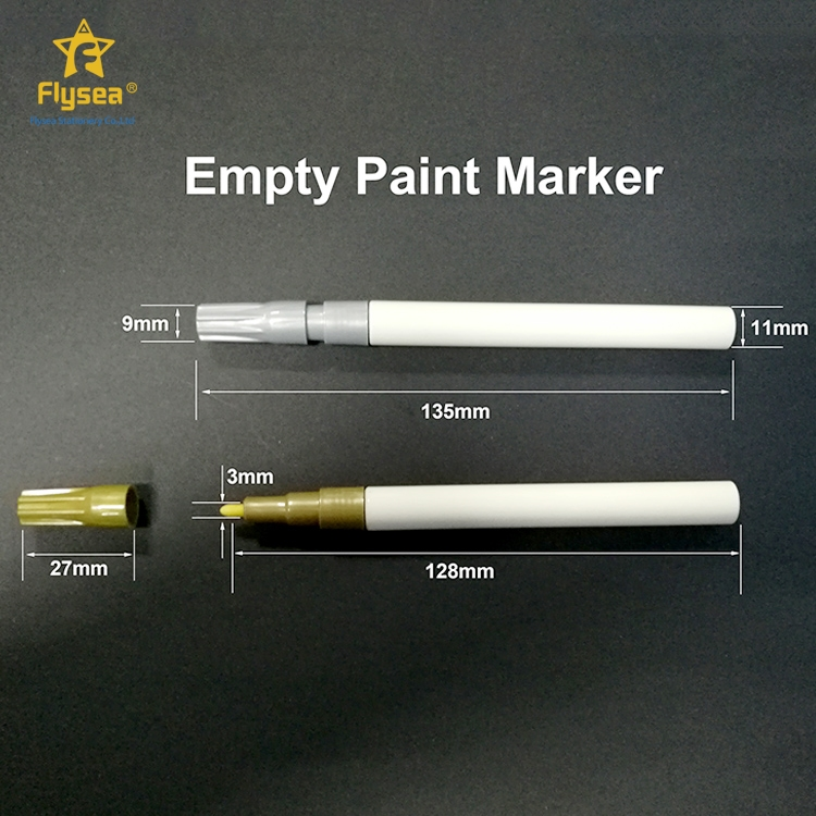 Multifunctional colorful and oem logo textile non toxic permanent marker pen price