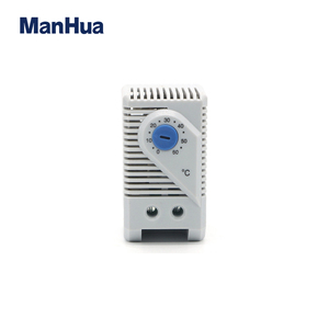 Manhua Quality Product KTS011 Cabinet Room adjustable Electronic Bimetal Thermostat