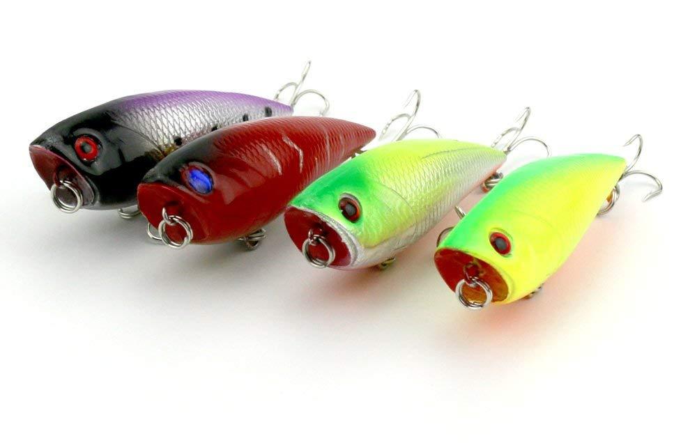 Buy HENGJIA popper 8pcs floating Lure top water lure