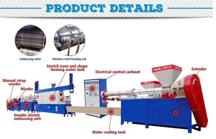 low power hot sale semi-automatic application pp packing strip machine
