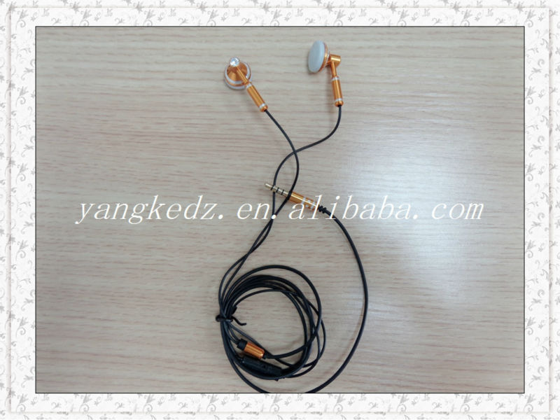 original new design n72 earphone with microphone