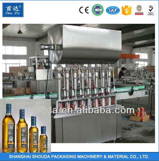 2017 New Design Olive Oil Extra Virgin Filling Production Line Machines