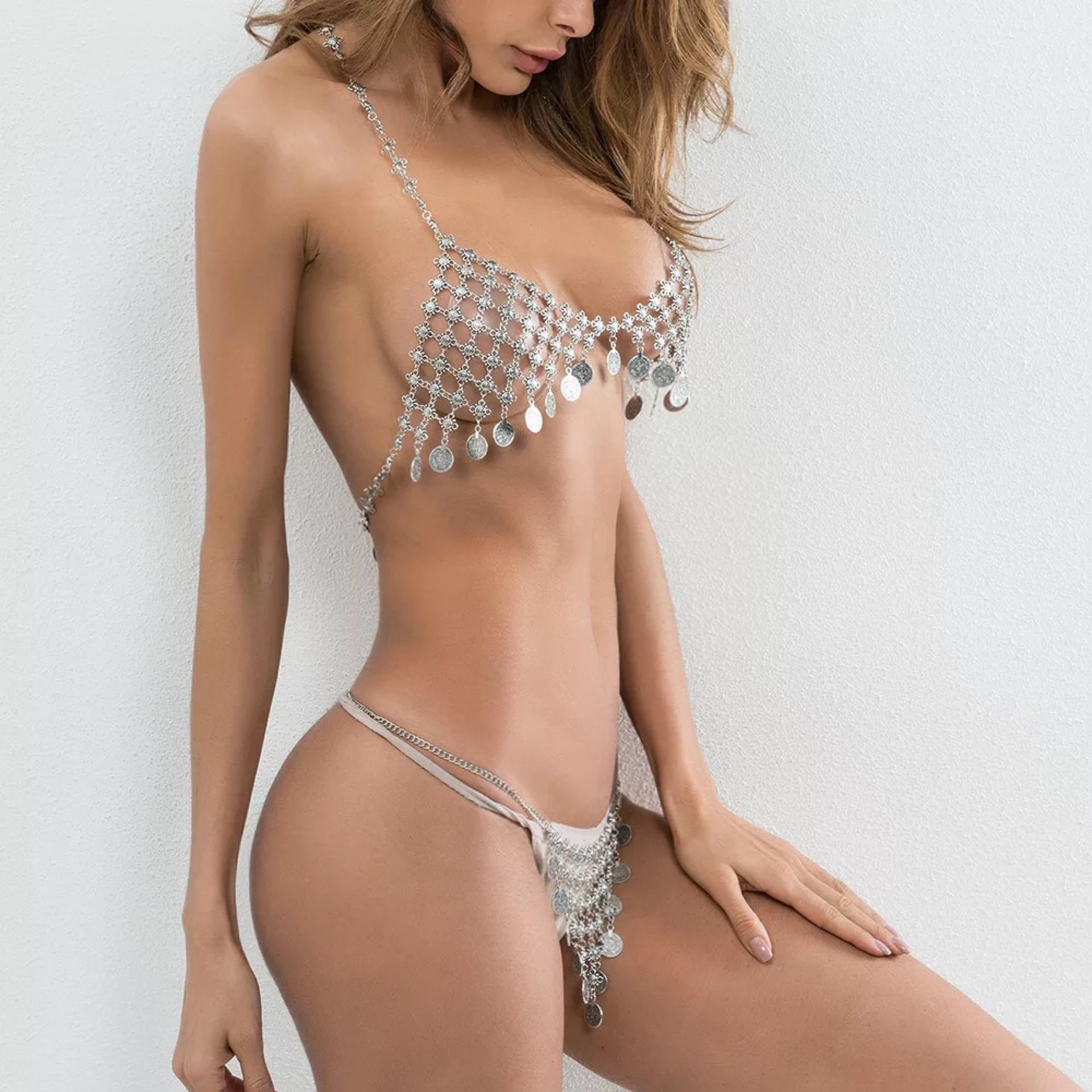 Busty mesh bikini, hot sexy amateur moms