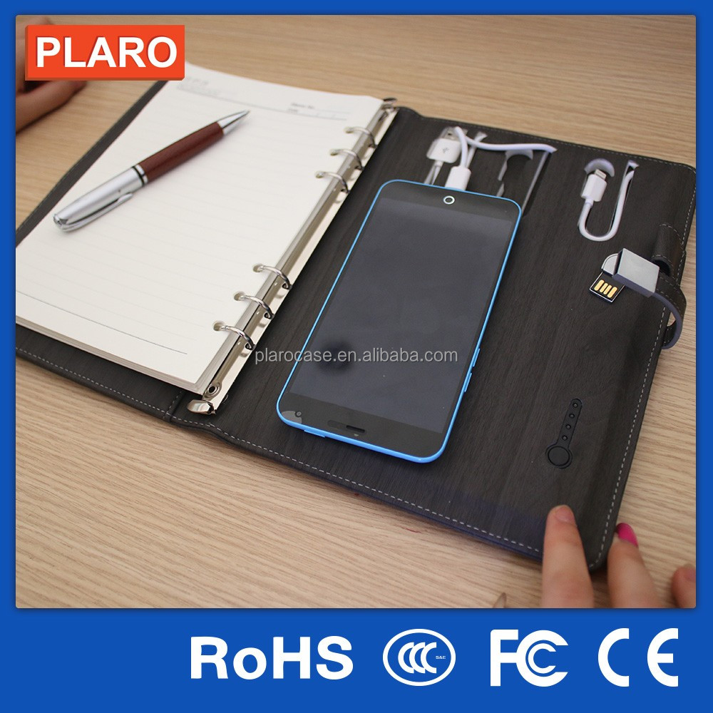 8gb u disk with power bank notebook
