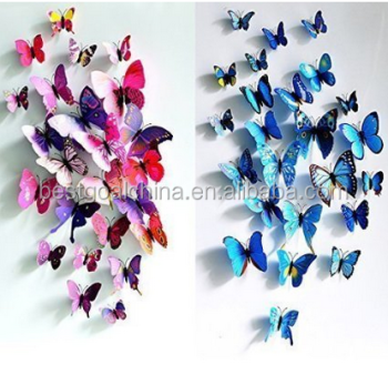 3D Butterfly Wall Art Sticker Decorative Wall Decal Part 51