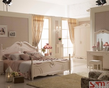 Slaapkamer Meubels Wit : Best verkopende bruiloft kingsize slaapkamer sets meubelen wit