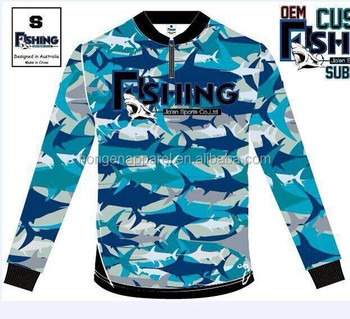 Hongen apparel custom made quick dry tournament fishing for Tournament fishing shirts wholesale