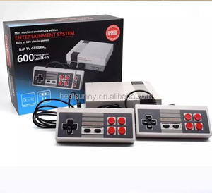 Best Selling 8 Bit Classic Retro Mini TV Game console Video Game Built-in 621 Games