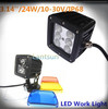top quality cree led lamp 24w led work light for auto work light led618