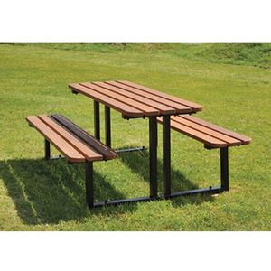 Arlau outside tables,garden party table benches,garden table