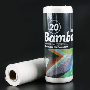 High quality low price white jumbo rolls virgin tissue paper germany bamboo cleaning cloth
