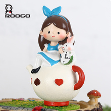 ROOGO resin home decoration country ideas furniture cute figurine
