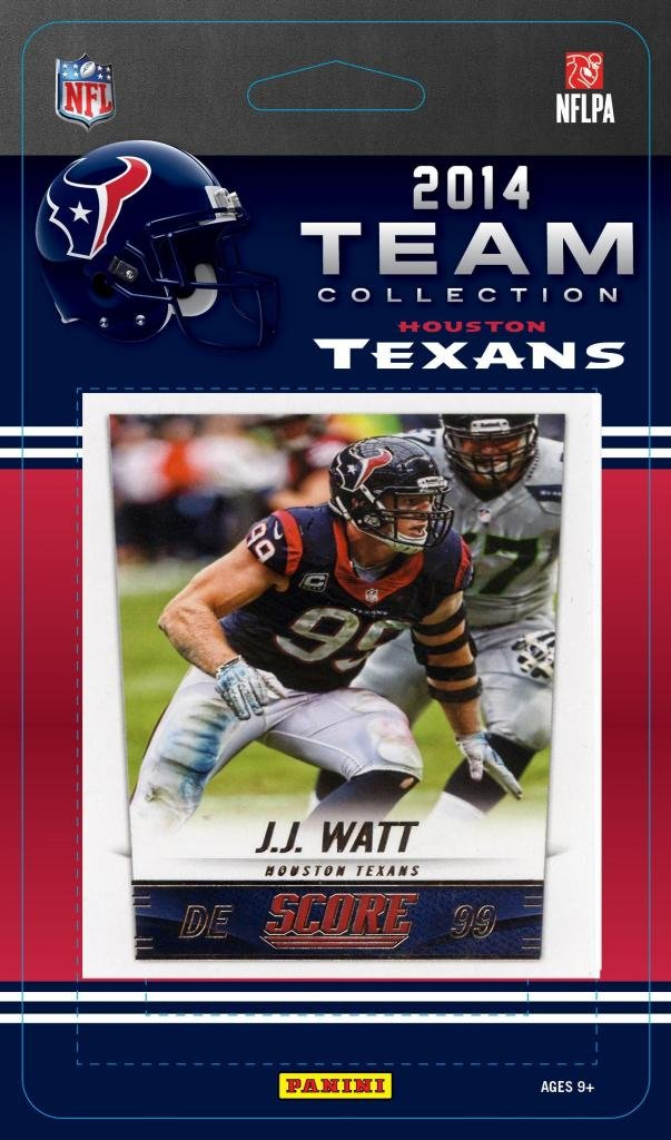 Houston Texans 2014 Score NFL Football Factory Sealed 12 Card Team Set Including the Rookie Card of the 2014 NFL #1 Draft Pick Jadeveon Clowney, Jj Watt and More