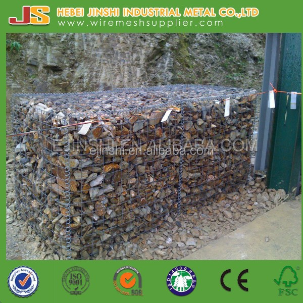 High Quality Galvanized Welded Gabion Box/Stone cage/welded wire mesh container