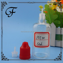 In Stock!! Manufacture Colored childproof cap 50ml pet plastic bottles