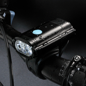 SANGUAN 800 Lumen USB Rechargeable Bicycle Helmet LED Bike Light Set