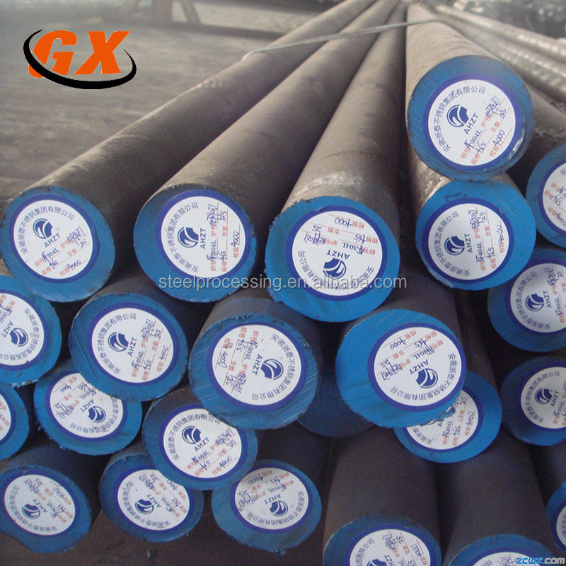 Hot rolled alloy structure steel round bars S45C,42CrMo,40Cr,40CrNiMo,20CrMnTi