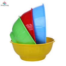 Wholesale 4pcs kitchen home using plastic pp salad bowl set fruit bowl