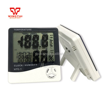 HTC Digital Dispaly Thermometer Hygrometer