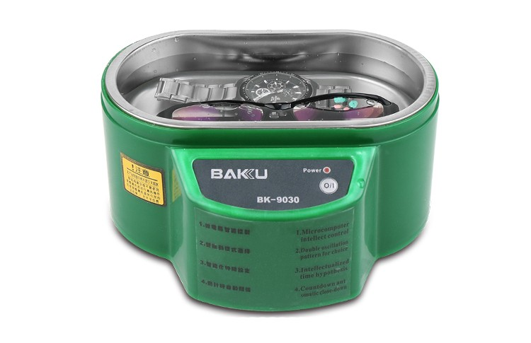 BAKU LED digital mini ultrasonic cleaner machine BK-9030