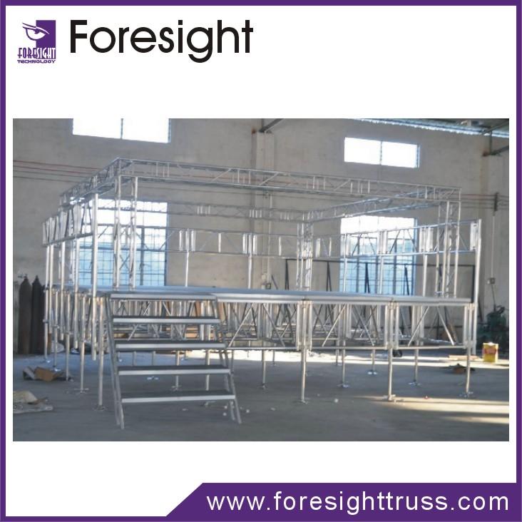 foresight mobile concert stage aluminum stage deck buy aluminum pontoon decking aluminum deck. Black Bedroom Furniture Sets. Home Design Ideas