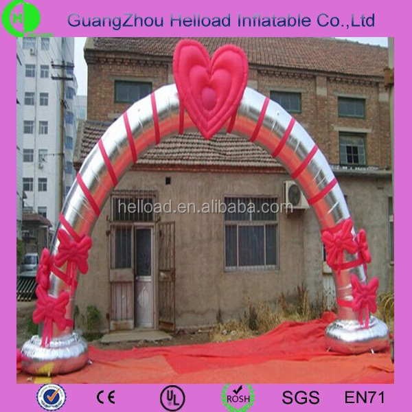 Popular inflatable wedding decorative arch