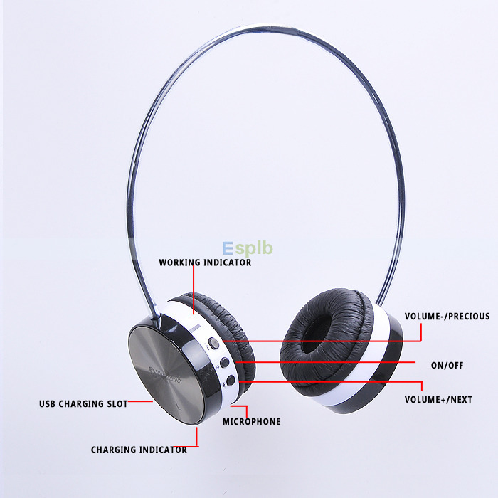 Buy High End Compact Bluetooth Stereo Headset Wireless Headband Headphones With Microphone And Bag For Mobile Tablets Pc Psp Music In Cheap Price On Alibaba Com