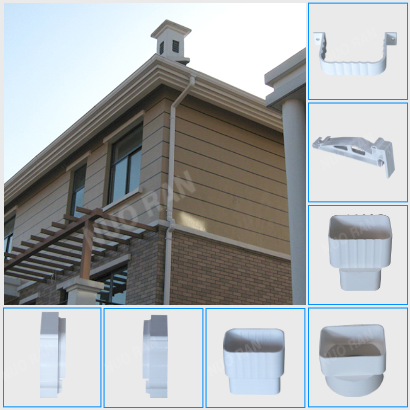 Pvc Resin Rain Gutters For India Water Gutter With Good