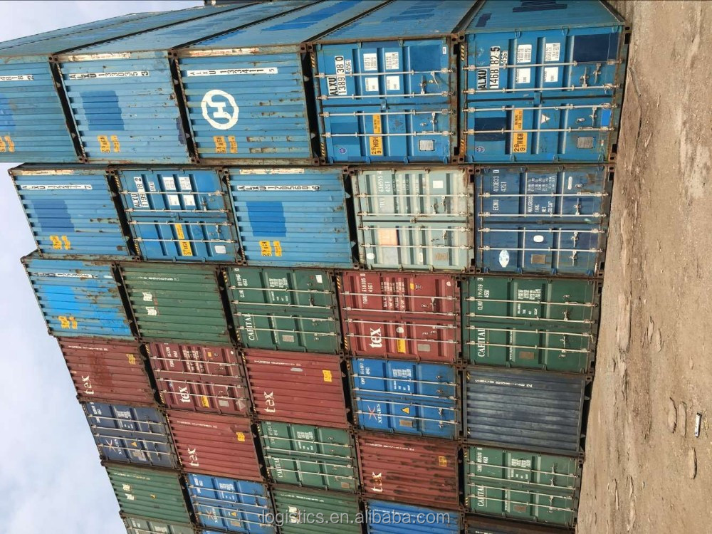 20GP shipping container price, used container 40 foot--Jemmy(skype:tony-dwm)