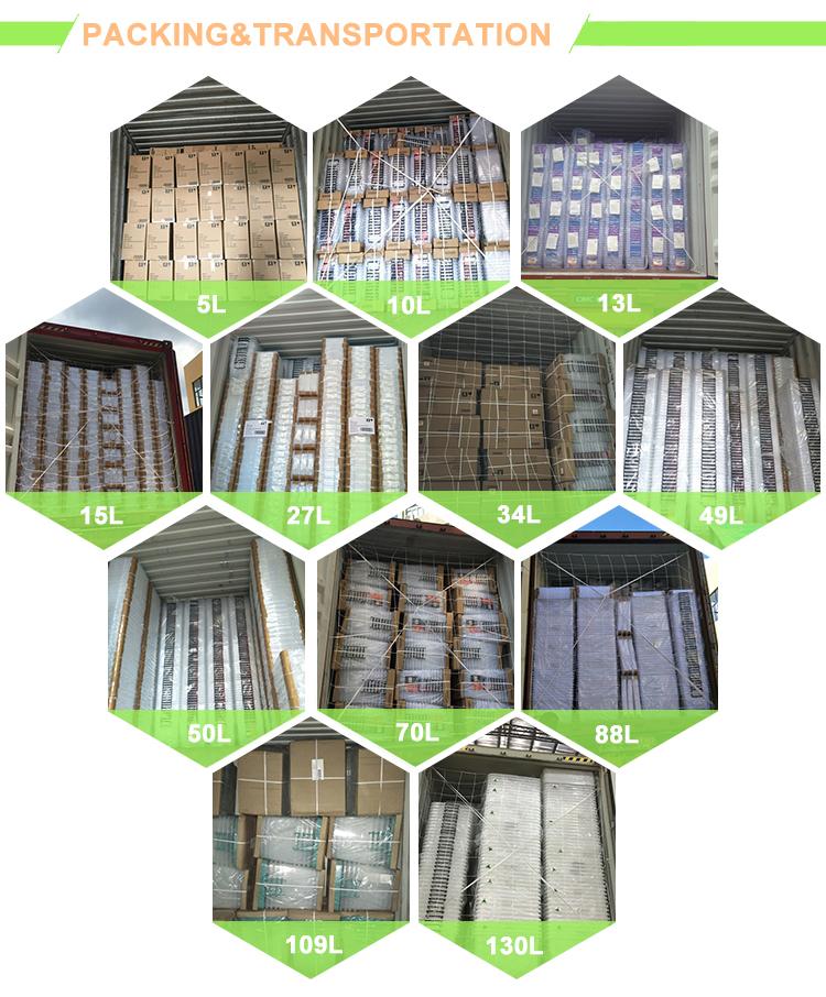 Hoge Kwaliteit Multi-size Indoor Log Plastic Onderbed Opbergdozen Met Wielen