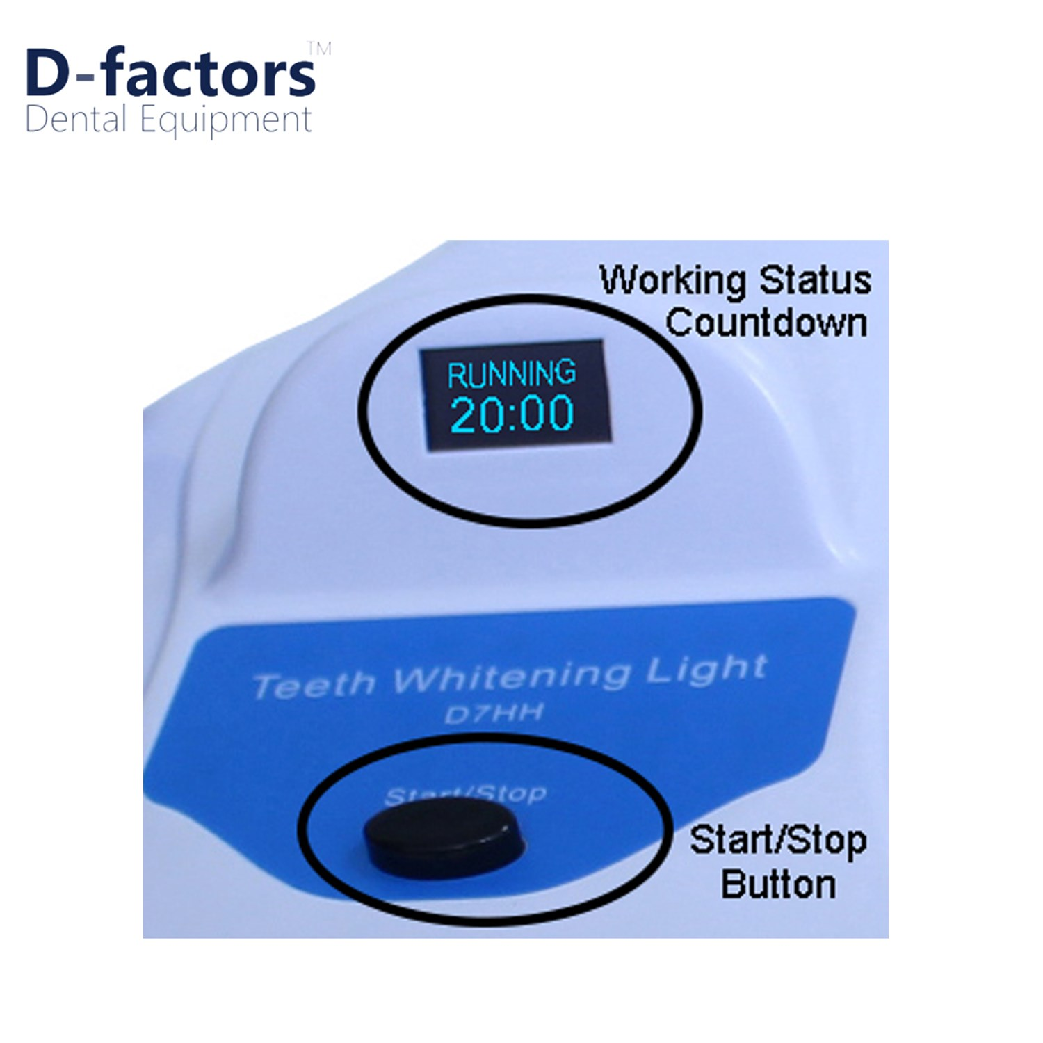 Floor Standard Model 12 LED Bleaching System Teeth Whitening Machine