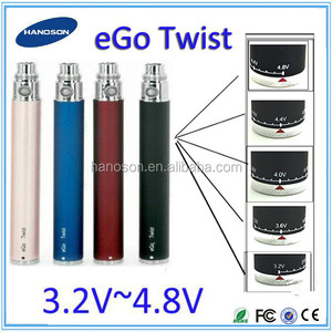 top sell ego twist e cigarettes 510 thread ego c twist battery