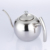 Stainless steel silver water kettle with filter / portable tea pot / water jug with infuser