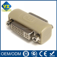 DVI Coupler Female to Female DVI 24+5 Female to DVI 24+5 Female Video Converter Coupler Adapter